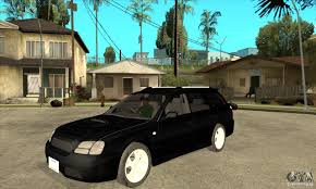 Subaru Legacy Station Wagon for GTA San Andreas