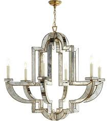 nierman weeks visual comfort weeks lido 6 light inch antique mirror chandelier ceiling light weeks large nierman weeks