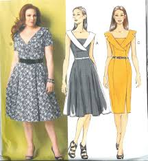 Butterick Plus Size Patterns Impressive Butterick Sewing Pattern Misses Women Dresses And Tops W Plus Size