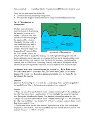 What Do The Colors Denote In A Bathymetric Chart More About Charts Triangulation And Bathymetry