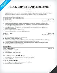 Objective For Truck Driver Resume cdl truck driver resume lidazayiflama 14