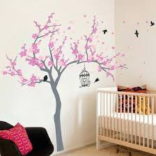 tree bird wall decals and stickers uk