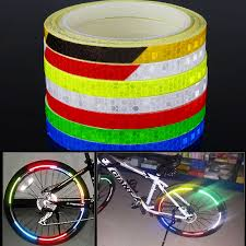 Sticker Light For Cycle Bicycle Reflector Reflective Sticker Safety Warning Cycle