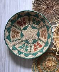 woven wall baskets basket wall decor vintage woven wall hanging coiled textile baskets woven wall baskets