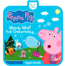Tigermedia tigercard - Peppa Pig (5): Wendy Wolf hat Geburtstag, Hörbuch
