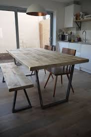 john lewis calia style vine industrial reclaimed plank top dining table in home furniture diy furniture tables ebay