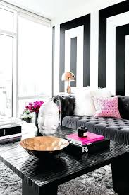black and white room decor an entire apartment in black white and why it works apartments black and white room decor