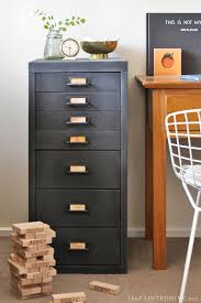 modern file cabinet. Modern Metal To Farmhouse Fab File Cabinet Makeover