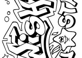 Small Picture Graffiti Coloring Pages Coloring4Freecom