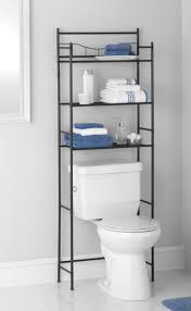 bathroom storage over toilet. Plain Over Bathroom Cabinet Over The Toilet Storage Rack Space Saver Shelf Organizer  Black On