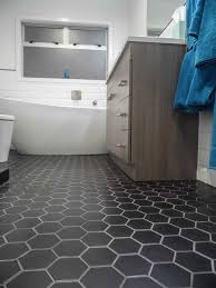 creative of bathroom tiles for floor 92 best images about hexagon