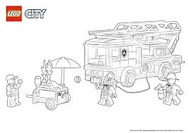 Fire Station Coloring Pages Lego City Legocom Us