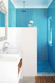 Blue Tiled Bathrooms Inspiration For A Striking Bathroom