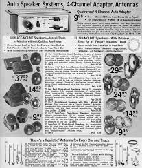 another reason the old days weren t so great car audio radio shack car accessories 1976 picture courtesy of radioshackcatalogs com