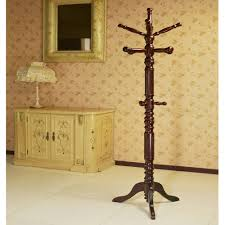 Who Sells Coat Racks Home Source Walnut Coat Stand Walmart 2
