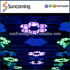 diy lighting effects. Panel Background Ceiling DIY LED Hanging Mirror Infinite Effect Light For Night Club Disco Decoration Diy Lighting Effects