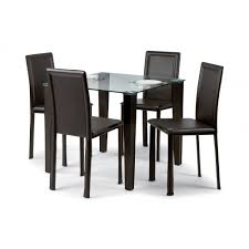 excellent dining table set 4 chairs 15 black room of dining set round table