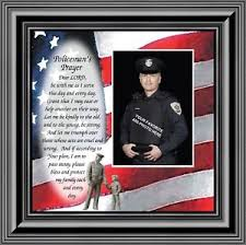 image is loading policeman 039 s prayer personalized picture frame gifts