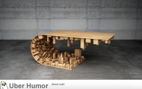 coffee table based on scene from