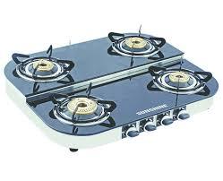 gas stove. Sunshine Alfa Step SS Four Burner Toughened Glass Gas Stove. Loading Zoom Stove A