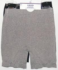 Izod Shorts Size Chart Izod 2 Pack Seamless Shapewear Shorts Size L Xl Smooth Mid Leg Light Control 48 Ebay