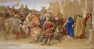 file william dyce piety the knights of the round table about to depart