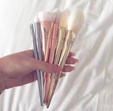 ulta makeup brushes. brush set real techniques bold metals essentials with exclusive metallic clutch ulta cosmetics fragrance salon and makeup brushes