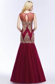 Online Shop <b>Robe de Soiree Longue</b> Sexy Transparent Burgundy ...