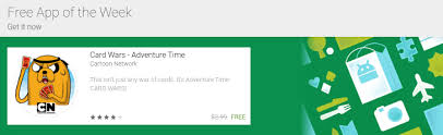 Free Time Card App Google Adds Free App Of The Week Section To The Play Store