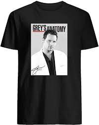 Amazon.com: Grey's Anatomy Movie Poster Meredith Grey Alex Karev Miranda  Bailey Derek Shepherd Short Sleeve Unisex T-Shirt Sweatshirt Hoodie:  Clothing