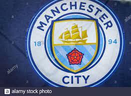 Manchester City flag during soccer season 2019/20 symbolic images - Photo  credit Fabrizio Carabelli /LM Stock Photo - Alamy