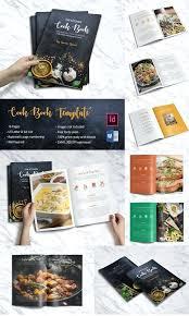 Cookbook Format Template Indesign Cookbook Template Free Word Format Download Premium