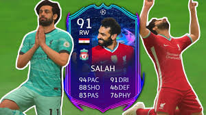FIFA 21 RTTF Salah Review | 91 Road to the Final Mo Salah Player Review - FIFA  21 Ultimate Team - YouTube