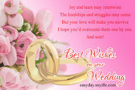 Wedding Wishes Quotes Classy Top Wedding Wishes And Messages Easyday