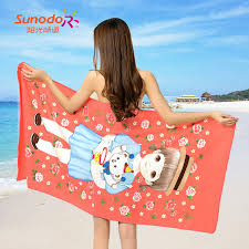 cool beach towels for girls. Hot-selling Korean Style Cartoon Girl Series Beach Towels Bath Microfiber Fabric Active Printing Cool For Girls