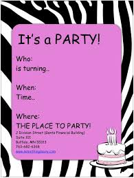 doc printable birthday party invitations for innovative slumber party invitations all amazing article happy printable birthday party invitations for teenagers