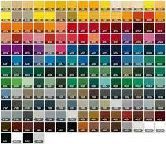 Car Colour Codes Chart Color Chart Auto Paint Google Search Paint Color Codes