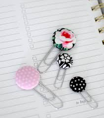 Flower Paper Clips Diy Cover Button Paperclips Paperclip Crafts Joann