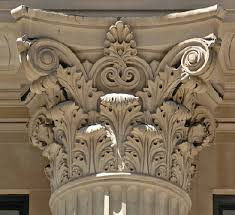 Image result for image of corinthian column capital