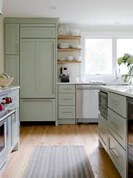 Coloured Floating Shelves Delectable Coloured Fridges For Traditional Kitchen And Candlelight Cabinetry