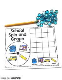 School Spin And Graph Recipe For Teaching
