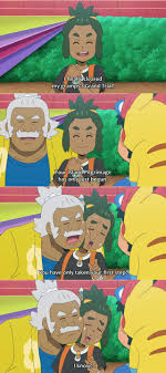 Hau has still only beaten Hala, so Ash and Gladion are the only league  participants that actually did all of the trials | Pokémon Sun and Moon