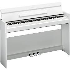 yamaha electric piano. yamaha ydp-s52 digital piano - white electric