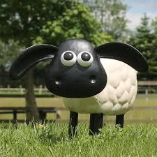 shaun the sheep and cousin timmy garden