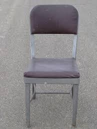 mid century modern vintage steel office desk chair original salvage amazing retro office chair
