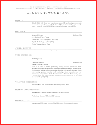 Lna Resume Cna Resume Objective Good Resume Format 21