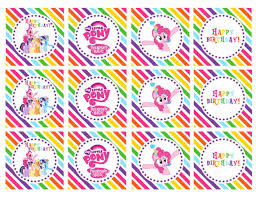 Small Picture Free Printable My Little Pony Invitations alesiinfo