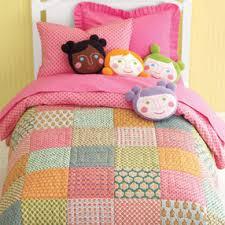 Kids Bedding: Girls Indian Print Themed Patchwork Quilt - Twin ... & Kids' Bedding: Girls' Indian Print Themed Patchwork Quilt - Twin Indian  Patchwork Quilt Adamdwight.com