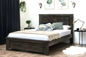 wooden bed frame king size – bsmall.co