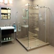 sliding frameless shower door sliding shower sliding shower frameless sliding glass shower door installation